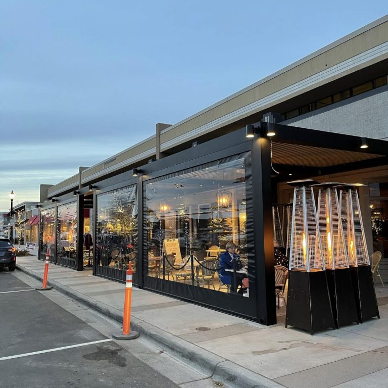 Minnesota restaurants find innovative ways to keep diners warm outdoors
